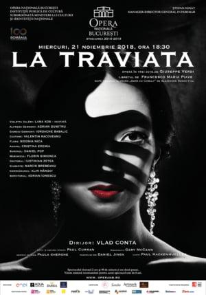"Soprana Lana Kos, invitata in ""La Traviata"" din programul lunii noiembrie de pe scena Operei Nationale Bucuresti"