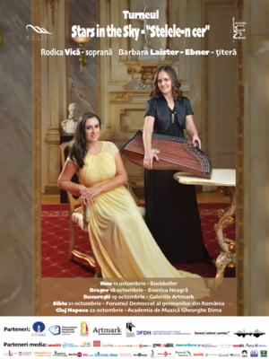 Soprana Rodica Vica si titera Barbara Laister-Ebner concerteaza la Bucuresti