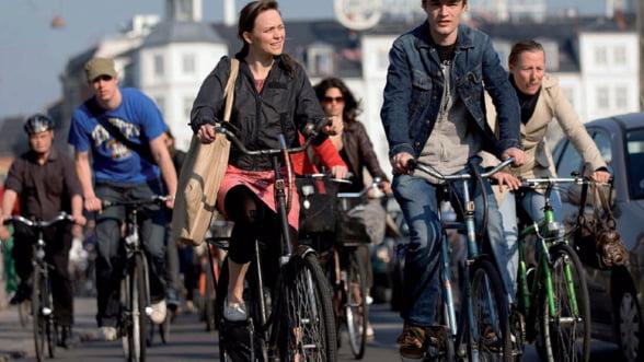 Sorin Oprescu, topit dupa infrastructura orasului Copenhaga: Ce le doreste biciclistilor bucuresteni