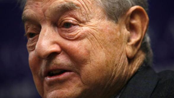 Soros: Criza din zona euro ameninta sa distruga Uniunea Europeana