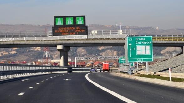 Sova: Gradul de finantare a lucrarilor la autostrazi este de 71%