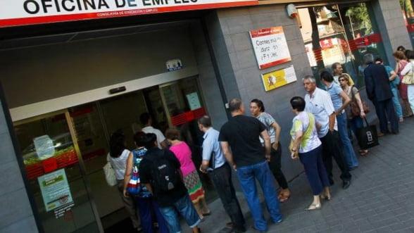 Spania: Somaj de peste trei ori mai mare decat in Romania