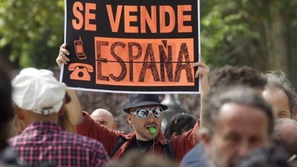 Spania nu scapa de probleme economice. PIB-ul a scazut cu 0,4% in T3