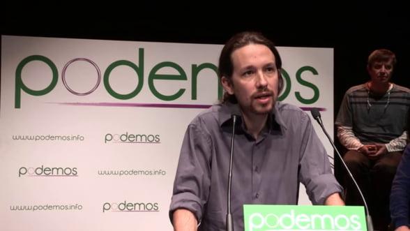 Spania poate spulbera zona euro. Liderul Podemos ameninta Berlinul si Bruxellesul