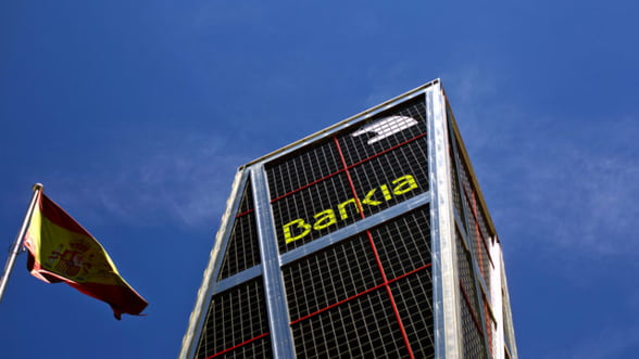 Spania recapitalizeaza Bankia, dupa ce banca a anuntat pierderi semnificative
