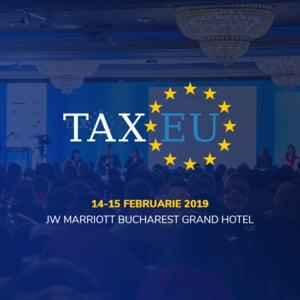 Specialistii in taxe se reunesc la TaxEU Forum 2019