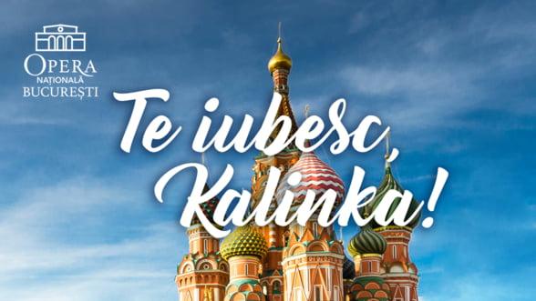Spectacol cu muzica de la rasarit in foaierul Operei Nationale Bucuresti: Te iubesc, Kalinka!
