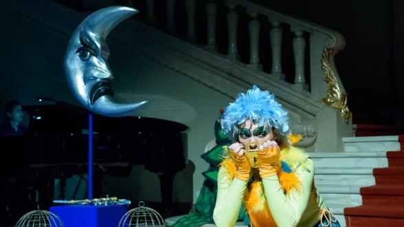 """Spectacolul pentru copii """"Flautul fermecat"""" de W.A.Mozart, pe scena Operei Nationale Bucuresti"""