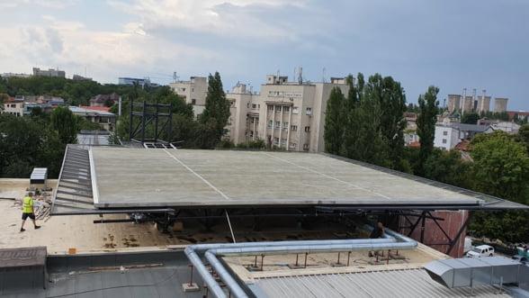 Spitalul Universitar de Urgenta Bucuresti va avea in curand propriul heliport. Investitia se ridica la 800.000 de euro