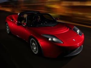 Sportiva electrica de la Tesla a intrat in productie