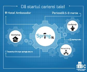 Spring IT revine - editia a VII-a
