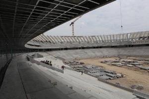 Stadionul National din Capitala, rentabil dupa trei ani de exploatare