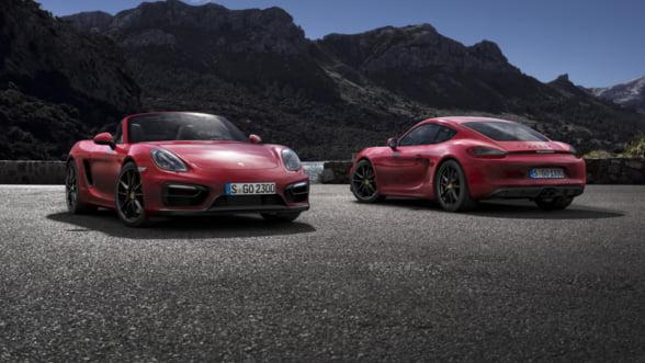 Stai cu ochii pe noile Porsche Boxster si Cayman GTS - vine premiera mondiala
