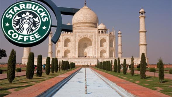 Starbucks intra pe piata indiana, pe fondul vanzarilor in picaj din tarile dezvoltate