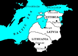 Statele baltice sunt grav afectate de criza mondiala