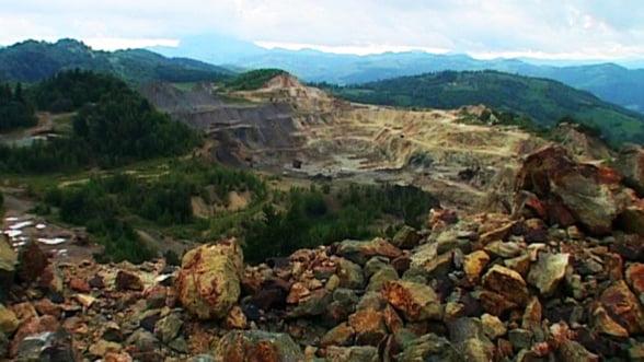 Statul, la un pas sa piarda actiunile la Rosia Montana Gold Corporation