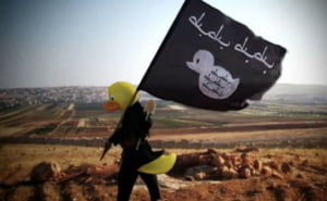 Statul Islamic, bataia de joc a Internetului. Cu umor inainte! Asa au aparut jihadistii cu cap de ratusca