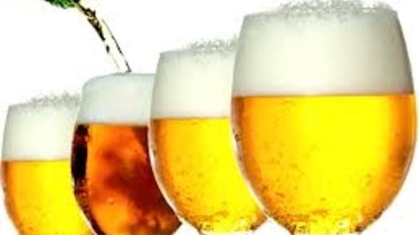 Statul creste accizele la bere: Va fi mai scumpa cu 2% din februarie