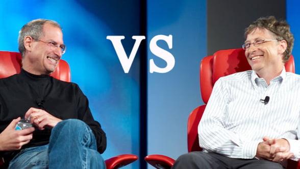 Steve Jobs a murit convins ca Bill Gates i-a copiat ideile