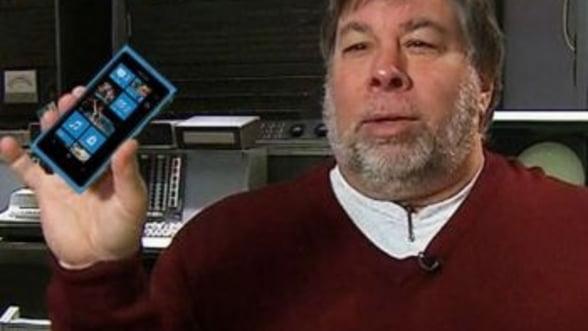 Steve Wozniak, co-fondatorul Apple, lauda Windows Phone