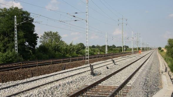 Strabag se lauda ca a obtinut un contract pentru tronsonul de cale ferata Vintu de Jos - Simeria