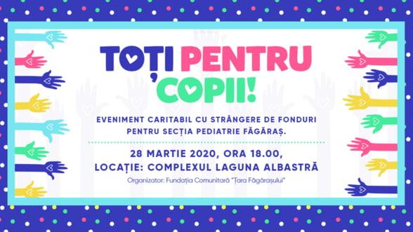 Strangere de fonduri pentru sectia de Pediatrie din Fagaras: Copiii sa fie tratati aici, nu la Brasov sau Sibiu