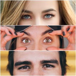 Studiu: Tot mai multi romani si-ar dori sa aiba ochi albastri sau verzi. Ce solutii au gasit