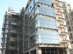 Suprafata de birouri inchiriata in Bucuresti a continuat sa scada
