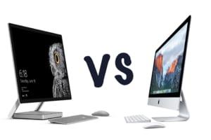 Surface Studio versus iMac: Microsoft da dovada de inovatie in stilul Apple - Insa care e cel mai tare desktop?
