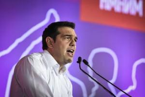 Syriza, partidul lui Tsipras, castiga din nou alegerile in Grecia - Rezultate exit-poll