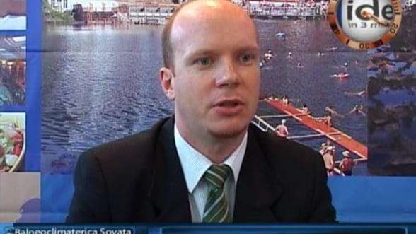 Szoboszlai Laszlo Erik, director de vanzari Balneoclimaterica Sovata