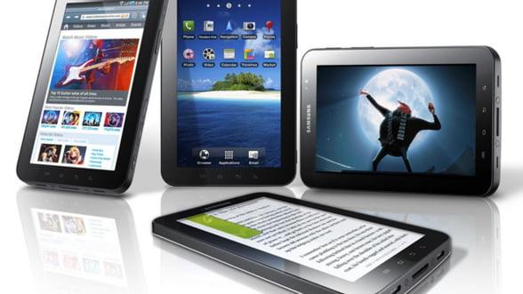 Tablete: Samsung are locul 2, la mare distanta de iPad. Are insa o sansa