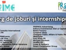 Targ de joburi pentru tinerii pasionati de PR, Advertising si Comunicare