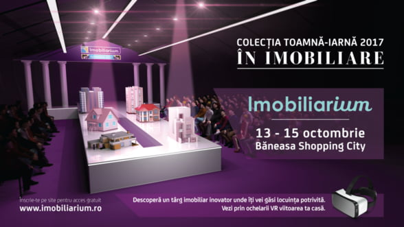 Targul Imobiliarium aduce locuinte cu discount intre 2.000 si 10.000 de euro, ansambluri in exclusivitate, dar si workshopuri atractive