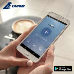Tarom lanseaza prima aplicatie mobila din istoria companiei