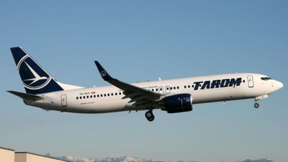 Tarom se gandeste sa vanda avionul folosit de Basescu