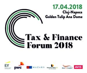 Tax & Finance Forum la Cluj-Napoca: expertii in fiscalitate dezbat principalele aspecte cu impact asupra mediului de afaceri