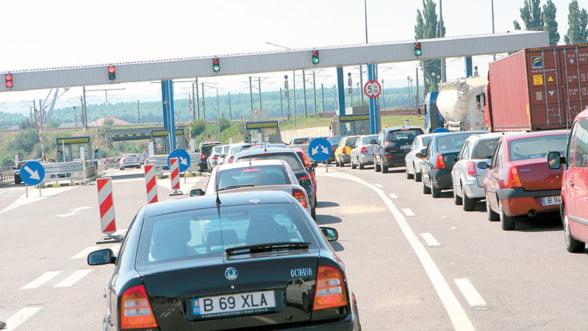 Taxa de pod de la Fetesti, suspendata de vineri pana luni
