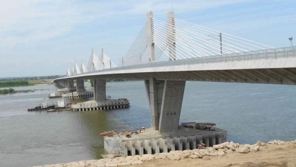 Taxa de traversare a noului pod Calafat-Vidin va fi de 6 euro pe masina