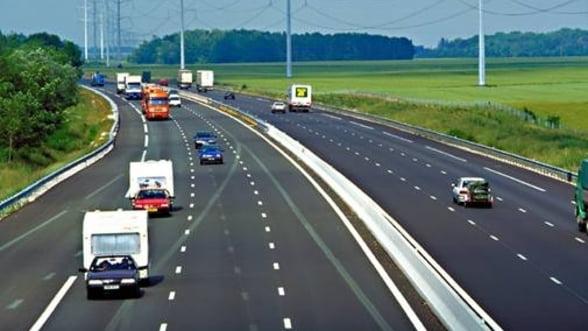 Taxa pe autostrada ar putea fi de trei euro pentru fiecare 100 de kilometri
