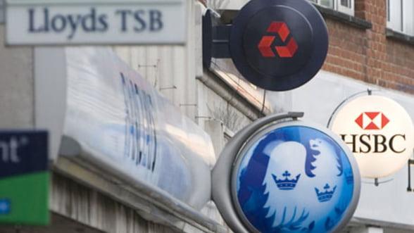 Taxe mai mari pentru bancile britanice, compensate de reducerea impozitelor pentru companii