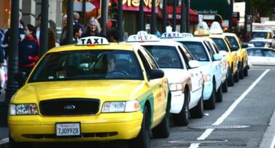 Taximetristii de la Otopeni merg in pierdere