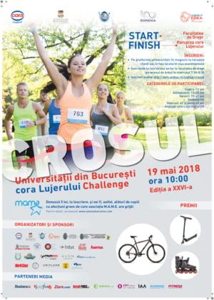 Te provocam la Crosul Universitatii Bucuresti-cora Lujerului Challenge!