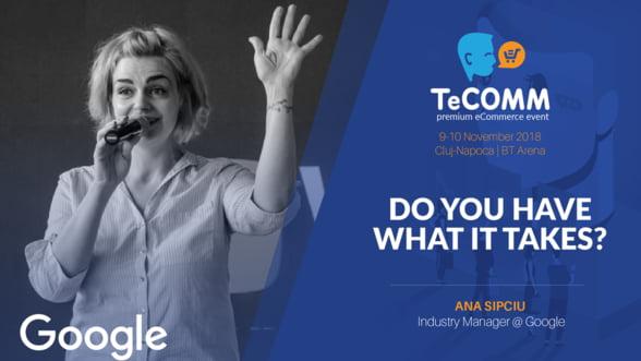 TeCOMM 2018: Cum cresti rata de conversie cu 20% in eCommerce