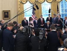 """Teama de scurgeri de informatii in mass-media alimenteaza """"paranoia"""" la nivelul administratiei Trump"""