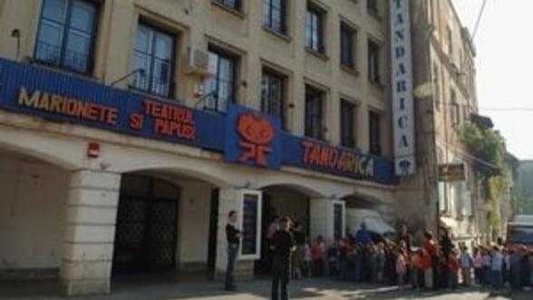 Teatru, oregami si pantomima, la Tandarica