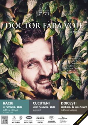 Teatru de vara la tara: Doctor fara voie, de Moliere, se joaca in satele Romaniei