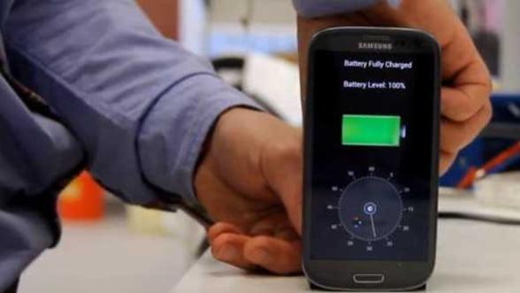 Tehnologie pentru incarcarea telefonului mobil in 30 de secunde