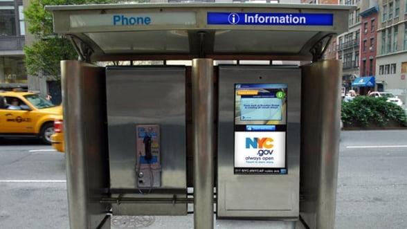 Telefoanele publice se transforma in Hotspot-uri Wi-Fi