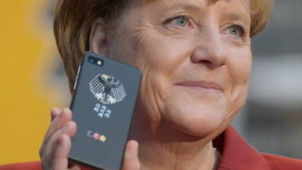 Telefonul Angelei Merkel, securizat de o companie canadiana